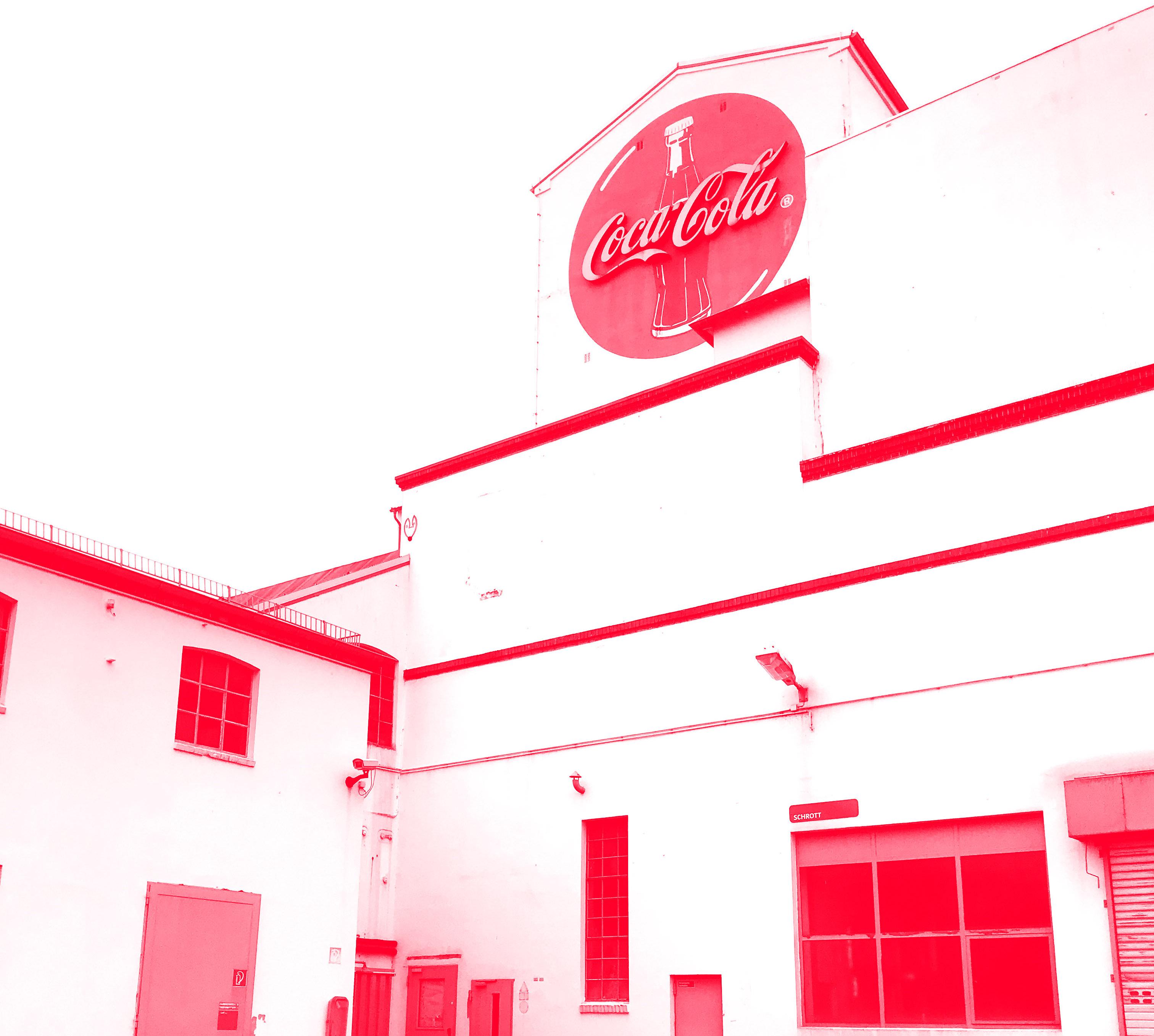 Bild der alten Coca Cola Fabrik